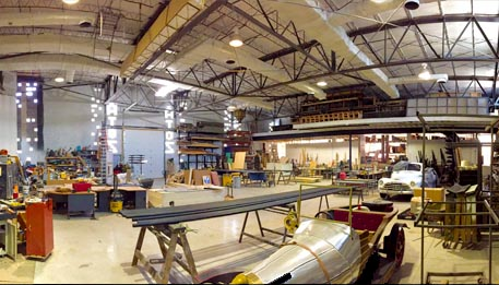 Our Scenic Design Shop