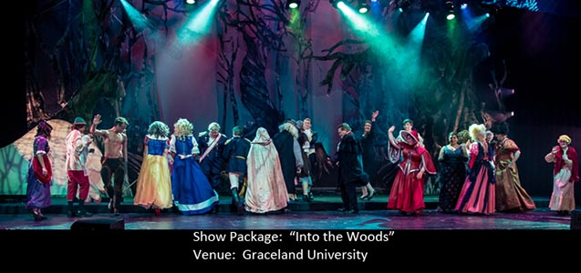Into The Woods Show Package on Stage