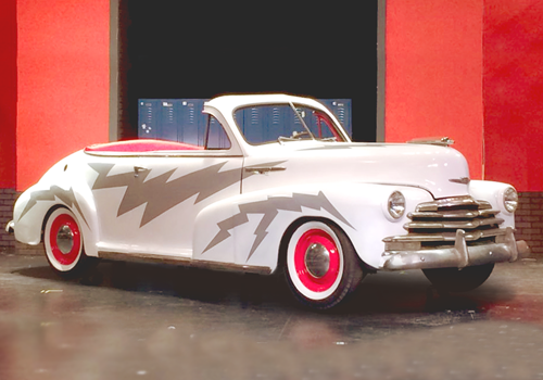 Greased Lightning Prop Car